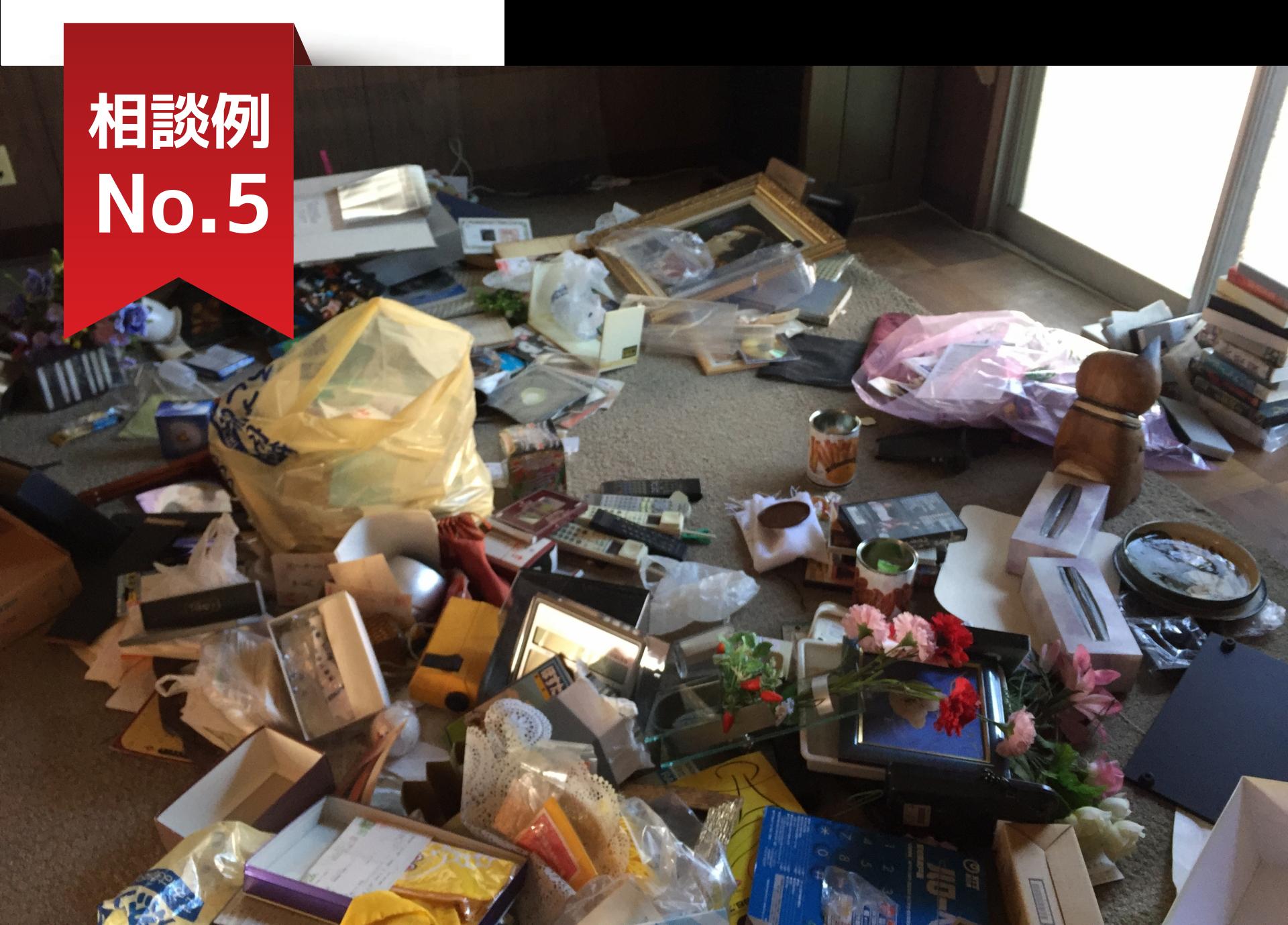 ゴミ屋敷や汚部屋のゴミ回収